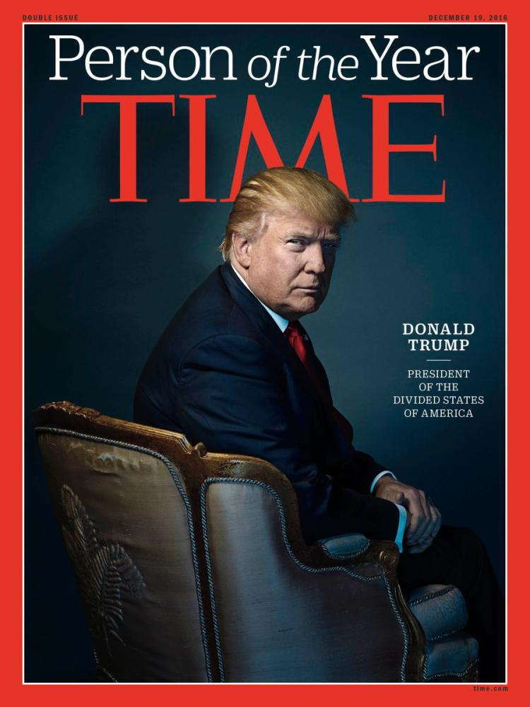 Donald Trump StoptheBull Time Man of the Year