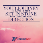 journey quote stopthebull success motivational quote