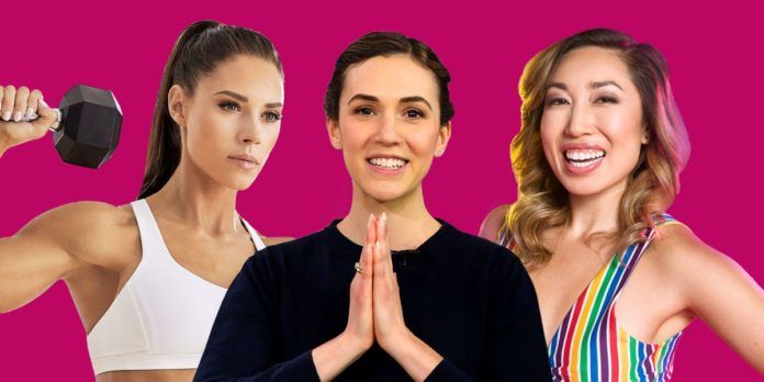 Meet the fitness influencers thriving in the era of the home workout