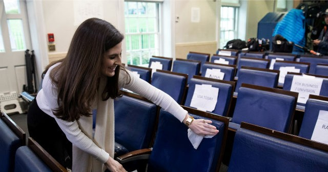Nolte: CNN's Typhoid Kaitlan Collins Caught Removing Mask After Briefing