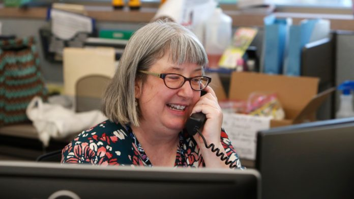 Calls offered for older adults staying home amid coronavirus bring comfort