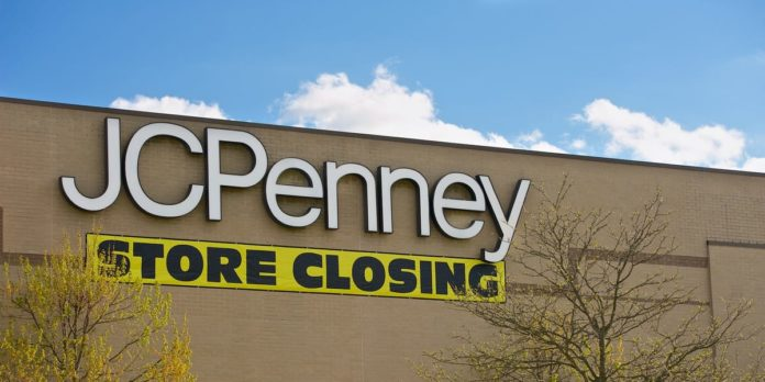 JCPenney says it will close about 240 stores after filing for bankruptcy