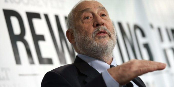 Nobel laureate Joseph Stiglitz sees prolonged double-digit US unemployment without further government aid