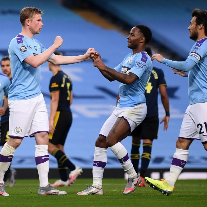 Manchester City Beat Arsenal in EPL's 1st Matchday After Restart amid COVID-19