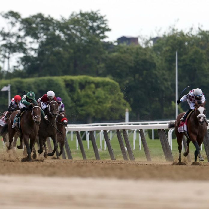 Belmont Stakes Results 2020: Video Replay of Tiz the Law Triple Crown Leg 1 Win