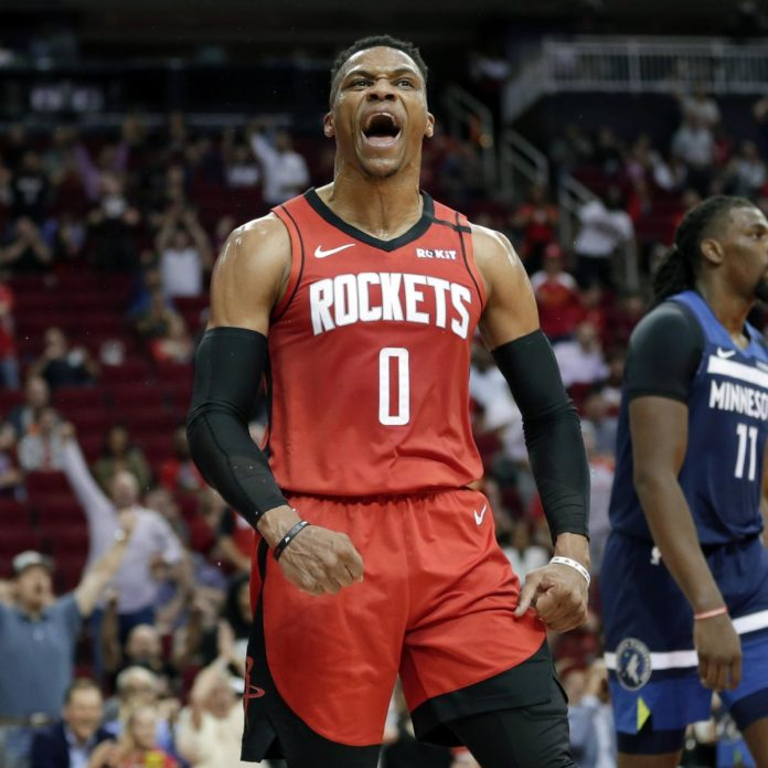 Rockets' Russell Westbrook: My 'Duty' to Show People It's OK to Take a Stand