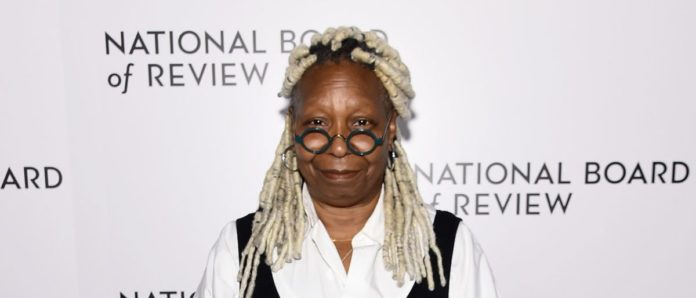 FACT CHECK: Did Whoopi Goldberg Wear A Shirt Depicting Donald Trump Shooting Himself?