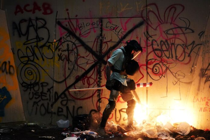 The Portland Protests Are a War Zone—but Only on the Internet