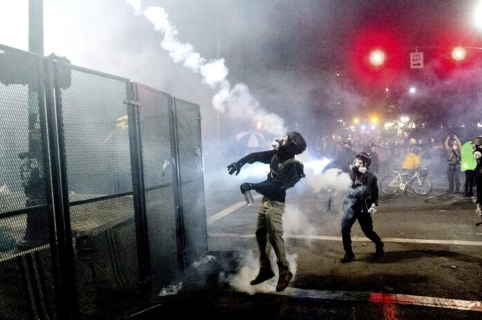 AG Barr: Portland Protesters Using 'Knives, Rifles, and Explosive Devices'