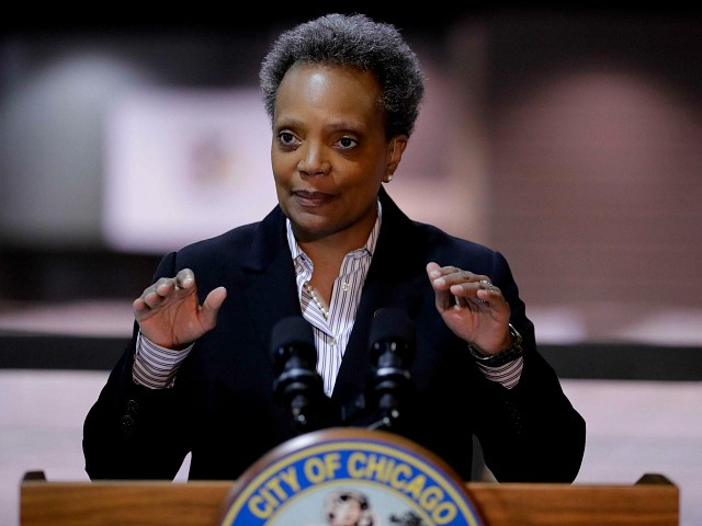 Chicago Mayor Lightfoot Blames Other States for Chicago's Gun Violence Problem