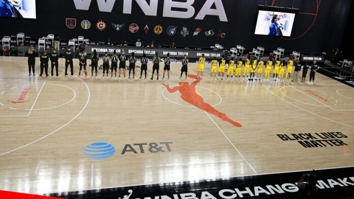 Election 2020  Donald Trump  President Trump  Conservative News  RNC WNBA players walk off court during national anthem ahead of season opener