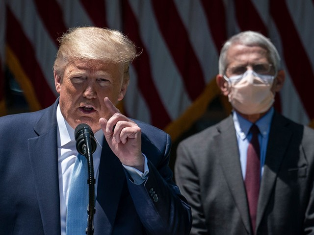 Donald Trump: 'I Don't Always Agree' with Dr. Anthony Fauci