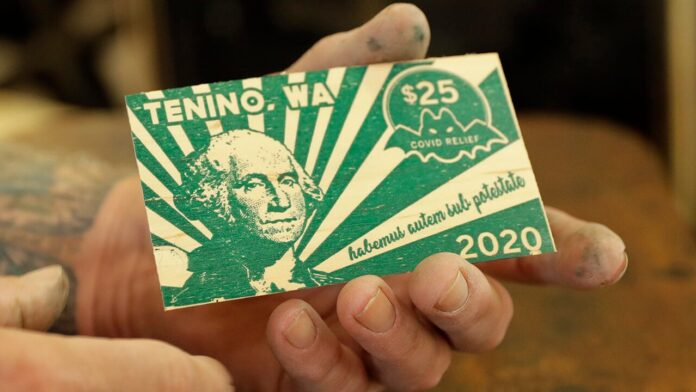 Election 2020  Donald Trump  President Trump  Conservative News  RNC Washington state town prints own wooden currency for coronavirus relief
