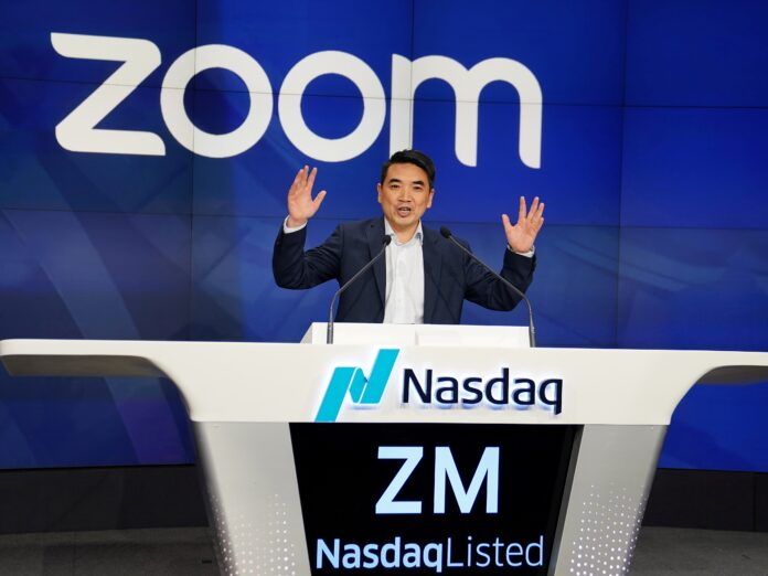 Zoom skyrockets 47% after reporting blockbuster earnings (ZM)