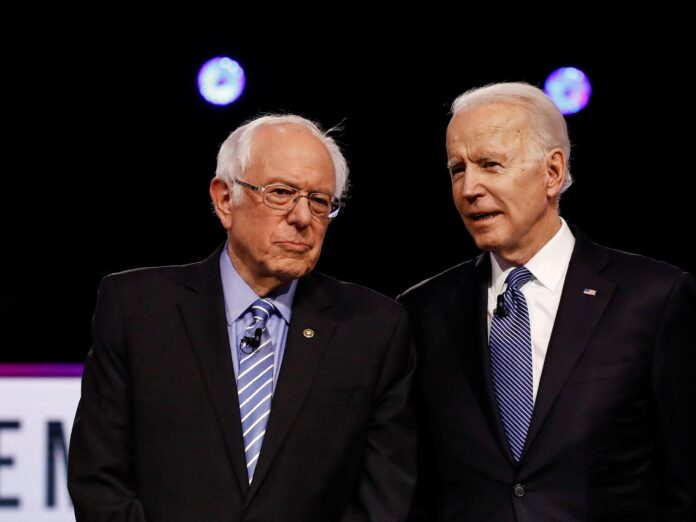 Bernie Sanders denies alleged 'concerns' about Joe Biden's campaign