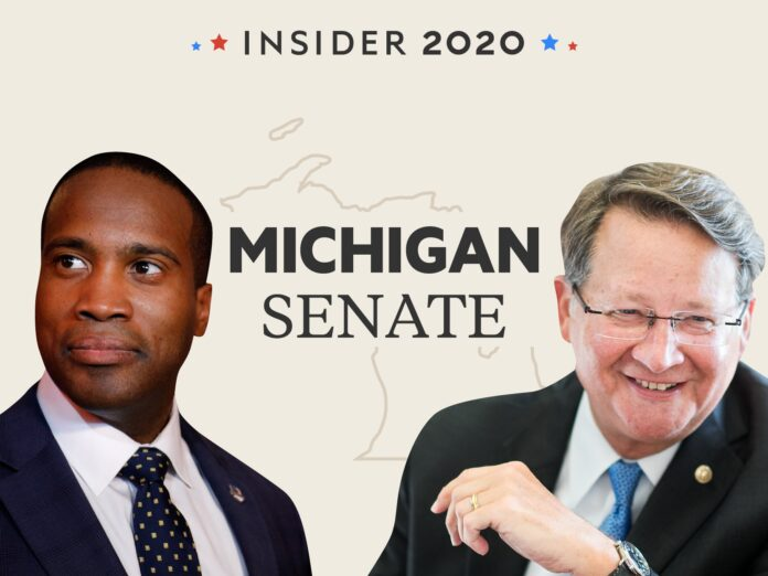 Democratic Senator Gary Peters faces off against Republican John James in Michigan