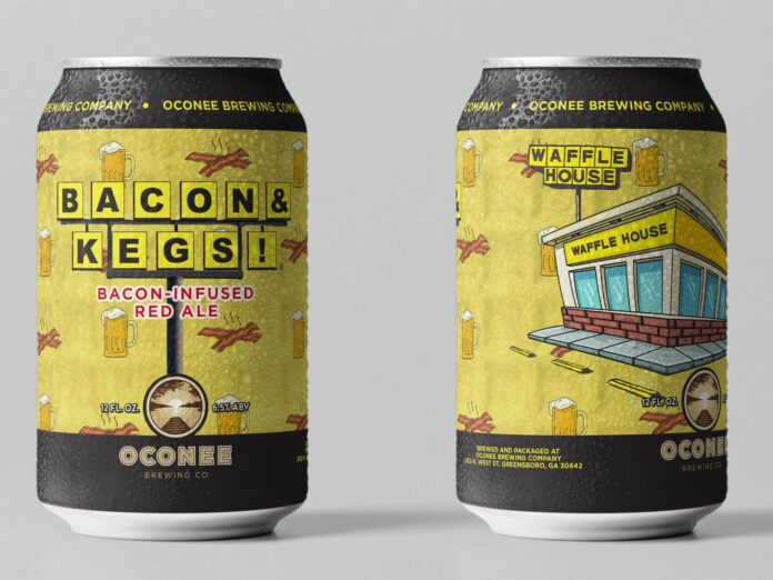 Waffle House's first-ever beer, 'Bacon and Kegs,' even smells like bacon