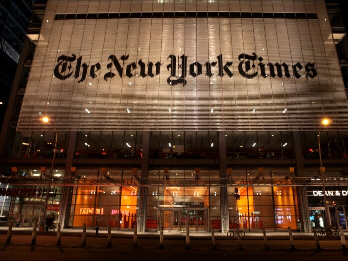 2 journalists at The New York Times left the company following separate controversies