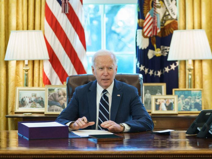 Biden wants all adults to be eligible for the vaccine by May 1