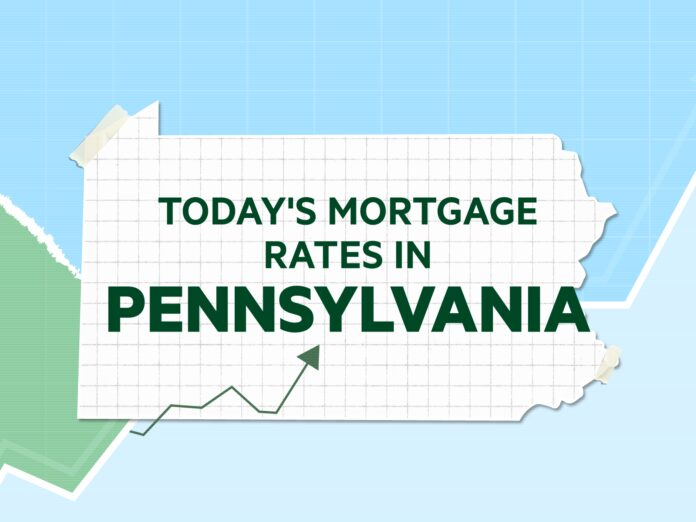 Today's mortgage and refinance rates in Pennsylvania