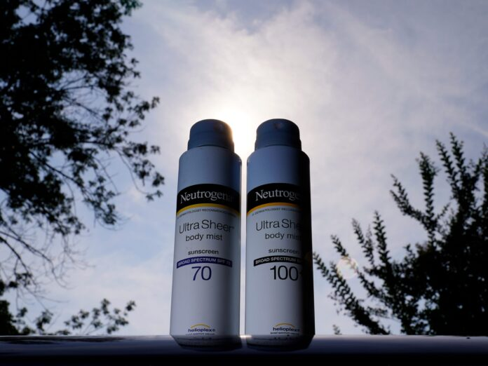 J&J recalls spray sunscreens after testing found traces of cancer-causing chemical