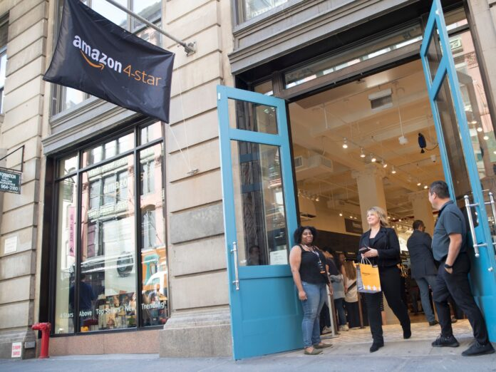 Amazon is opening department stores in California and Ohio, reports say